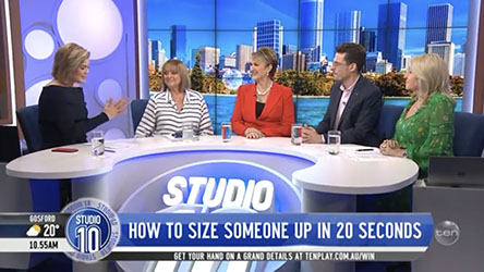Studio 10: How to Size Someone Up in 20 seconds
