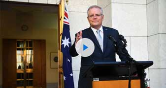 Coronavirus Australia: Scott Morrison's body language reveals a new side to the Prime Minister