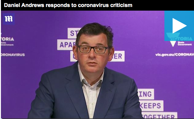 Body language experts analyse Victoria Premier Daniel Andrews