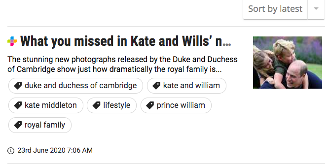 What you missed in Kate and Wills' new photos